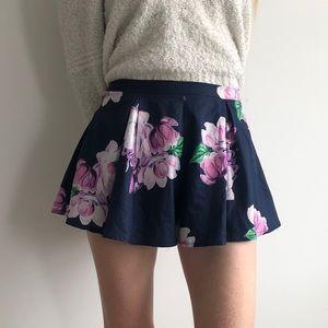 For Love & Mini Floral Skort